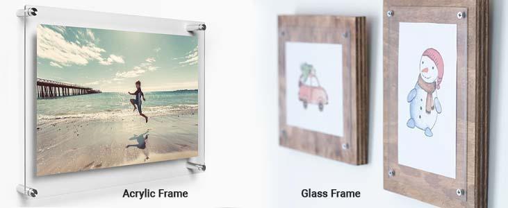 Acrylic Frame vs Glass Frame