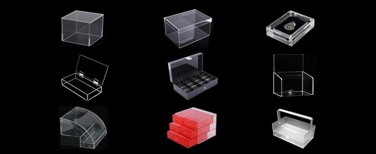 What are the Different Types of Acrylic Boxes