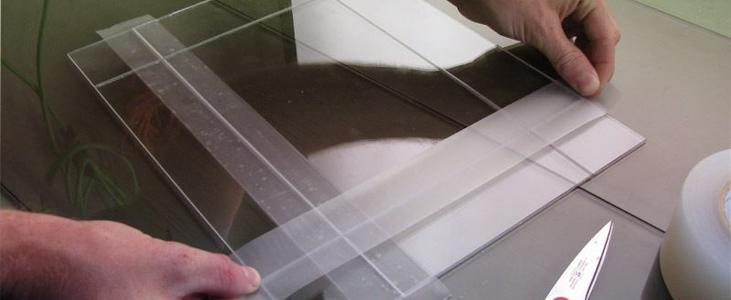 Handle the Plexiglass carefully - Pleasant Acrylic