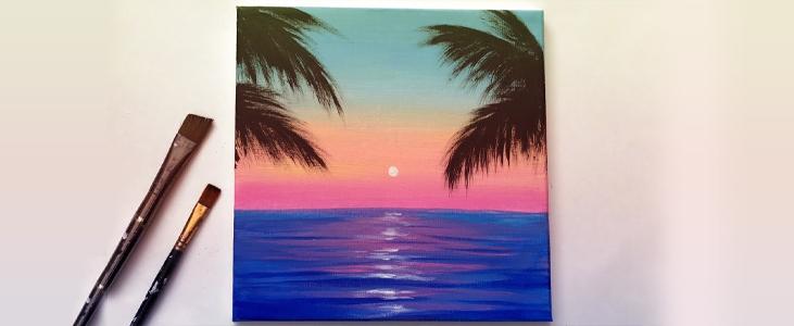 Make Acrylic Painting easy - Pleasant Acrylic